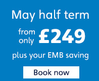 May half term from only £249